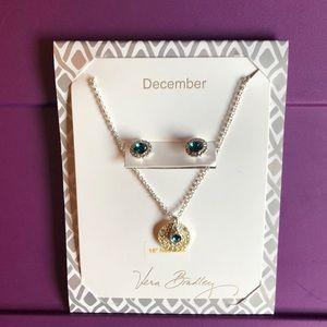 Vera Bradley Earring & Necklace Set